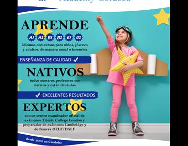 Cartel Global Academy Cordoba