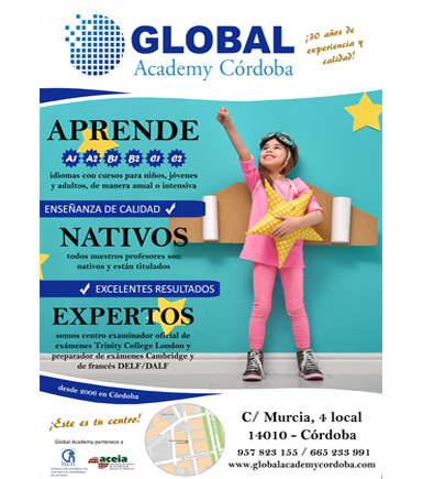 Cartel Global Academy Cordoba