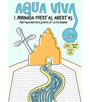 Cartel Agua Viva